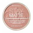 RIMMEL LONDON Stay Matte Long Lasting Pressed Powder 009 Amber - puder 14g